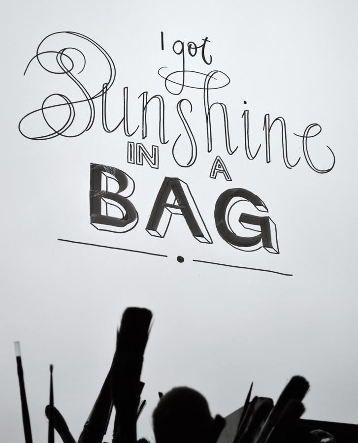 Letterhand-sunshineinabag