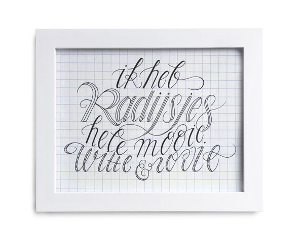 Radijs-Letterhand