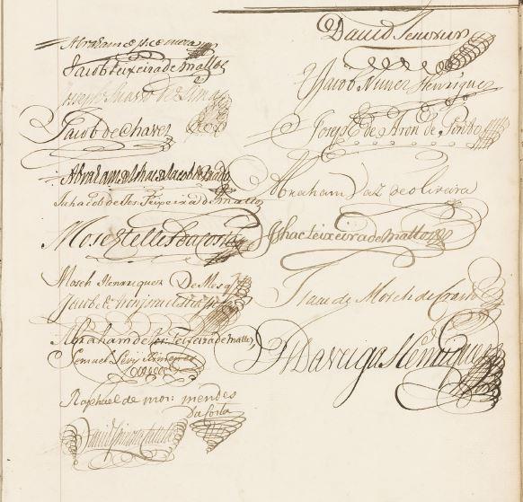 Handtekeningen 1767