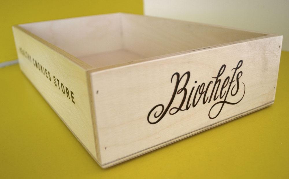 Biochefs Healthy cookies store - Letterhand