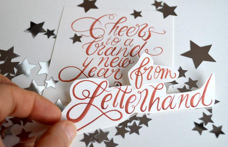 Letterhand-cheers