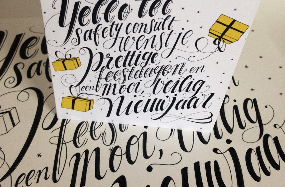 Kerstkaart voor Yellotec